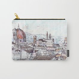 Florence at Dusk from Palazzo Magnani Feroni Carry-All Pouch