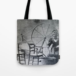 Antique candle making Tote Bag