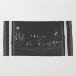 136 | venice beach Beach Towel