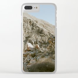 Side of the Mountain Clear iPhone Case