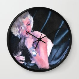 Beneath The Sheets Wall Clock