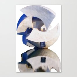 Brasilia Sculpture Canvas Print
