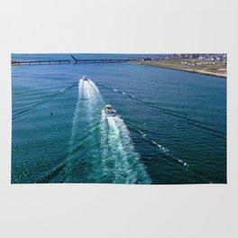 Sailing Through Rug