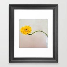 Curvy Framed Art Print