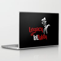 misfits Laptop & iPad Skins featuring The Misfits after 1983 by Chris Piascik