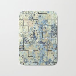 Shabby Chic Tiles Bath Mat