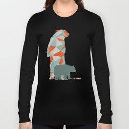 Geo Bear Long Sleeve T-shirt