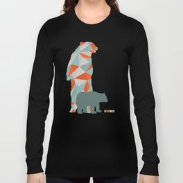 Geo Bear Long Sleeve T-shirt