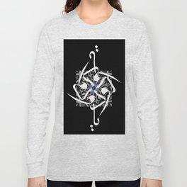 O Loving One - Arabic Calligraphy 600dpi Long Sleeve T-shirt