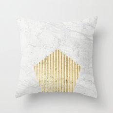 penta gOld Throw Pillow