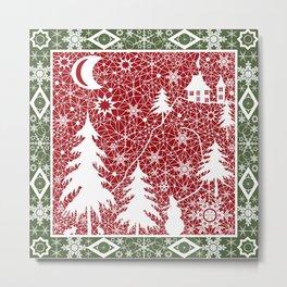 Winter. Christmas. Metal Print