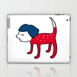 Dog-girl Laptop & iPad Skin