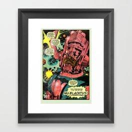 MO' BLACKTUS Framed Art Print