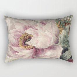 Paris Peony Rectangular Pillow