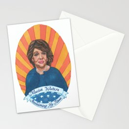 Women Who March: Maxine Waters Stationery Cards