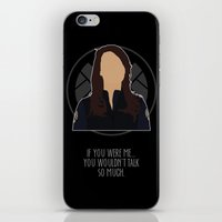 agents of shield iPhone & iPod Skins featuring Agents of S.H.I.E.L.D. - May by MacGuffin Designs