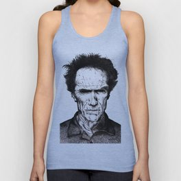 Clint Eastwood Unisex Tank Top