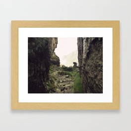 """I'm going on an adventure!"" Framed Art Print"