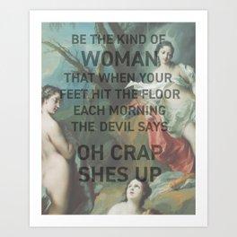 QUOTE ~ Art Print