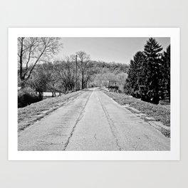 Long Road To Ruin Art Print