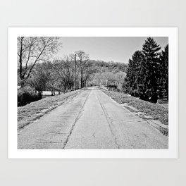 Long Road To Ruin Art Print