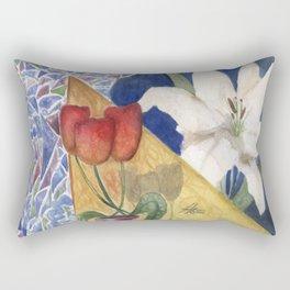 Three Worlds Collide Rectangular Pillow