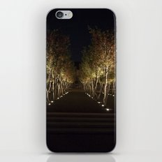 Trees By The Kimbell iPhone & iPod Skin