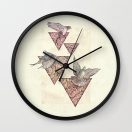 Nature Perfection Wall Clock