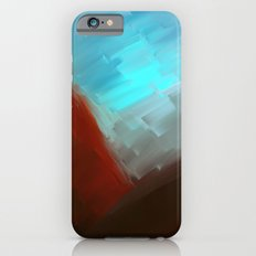 Mountains in blue iPhone 6s Slim Case