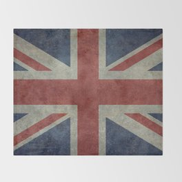 Union Jack Official 3:5 Scale Throw Blanket