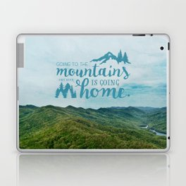 Going to the Mountains Laptop & iPad Skin
