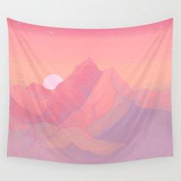 Peach Haze Wall Tapestry