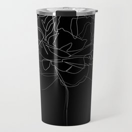 """Botanical Collection"" - Peonies Flower Travel Mug"