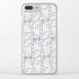 Abstract pattern 4 Clear iPhone Case