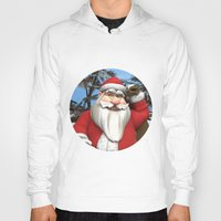 santa Hoodies featuring Santa by Design Windmill