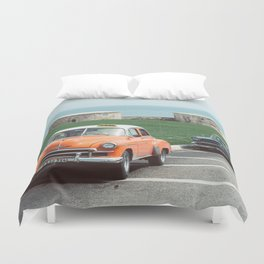 You Talkin' to ME?? Duvet Cover