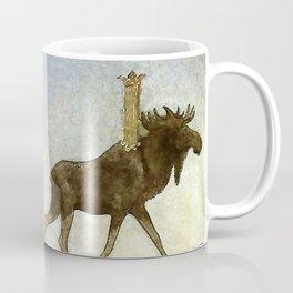 """Leap the Elk"" Watercolor by John Bauer Coffee Mug"