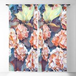 Aquarell floral 04 Blackout Curtain