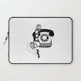 Waiting for your call Laptop Sleeve