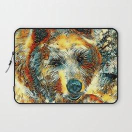 AnimalArt_Bear_20170604_by_JAMColorsSpecial Laptop Sleeve