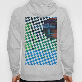 Color Chrome -circle/geometric graphic Hoody