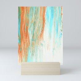 Abstract Liquid Pattern #abstract #illustration Mini Art Print