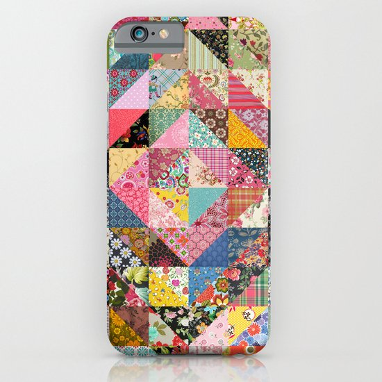 Grandma's Quilt iPhone & iPod Case