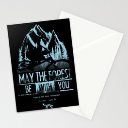 May The Forest Stationery Cards