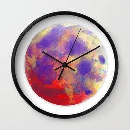 Ripple in the Tide Wall Clock
