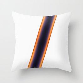 White Stripes Throw Pillow