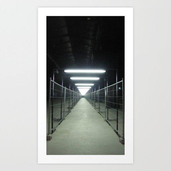 "A passage (Milan) ""A SAFE PLACE"" series Art Print"