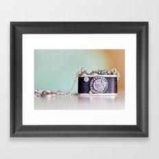 sparkle. Framed Art Print