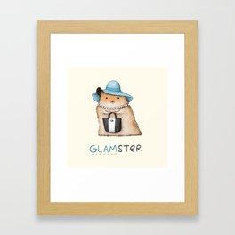 Glamster Framed Art Print