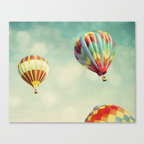 Perfect Dream - Hot Air Balloons Canvas Print